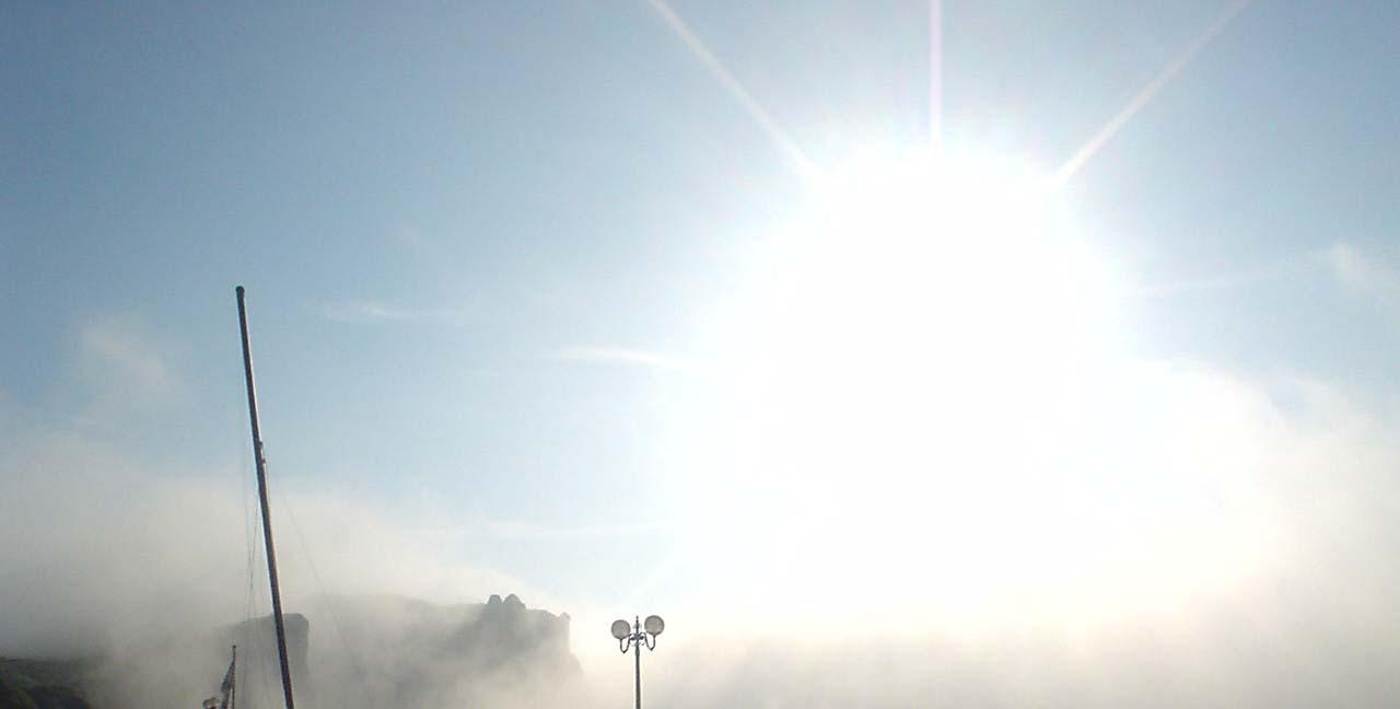 tétons dans la brume